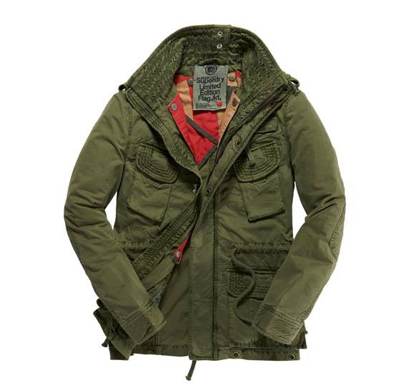 giubbotto SuperDry Flah
