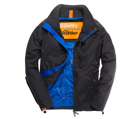 giubbotto superdry technical windhiker