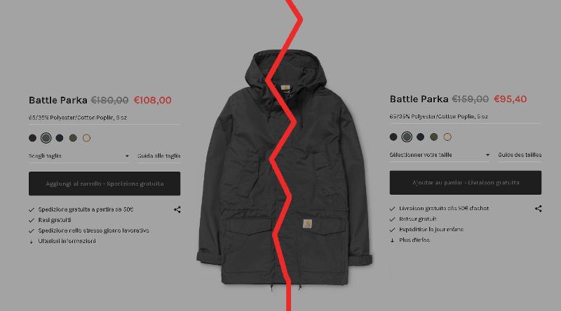 prezzi carhartt battle parka